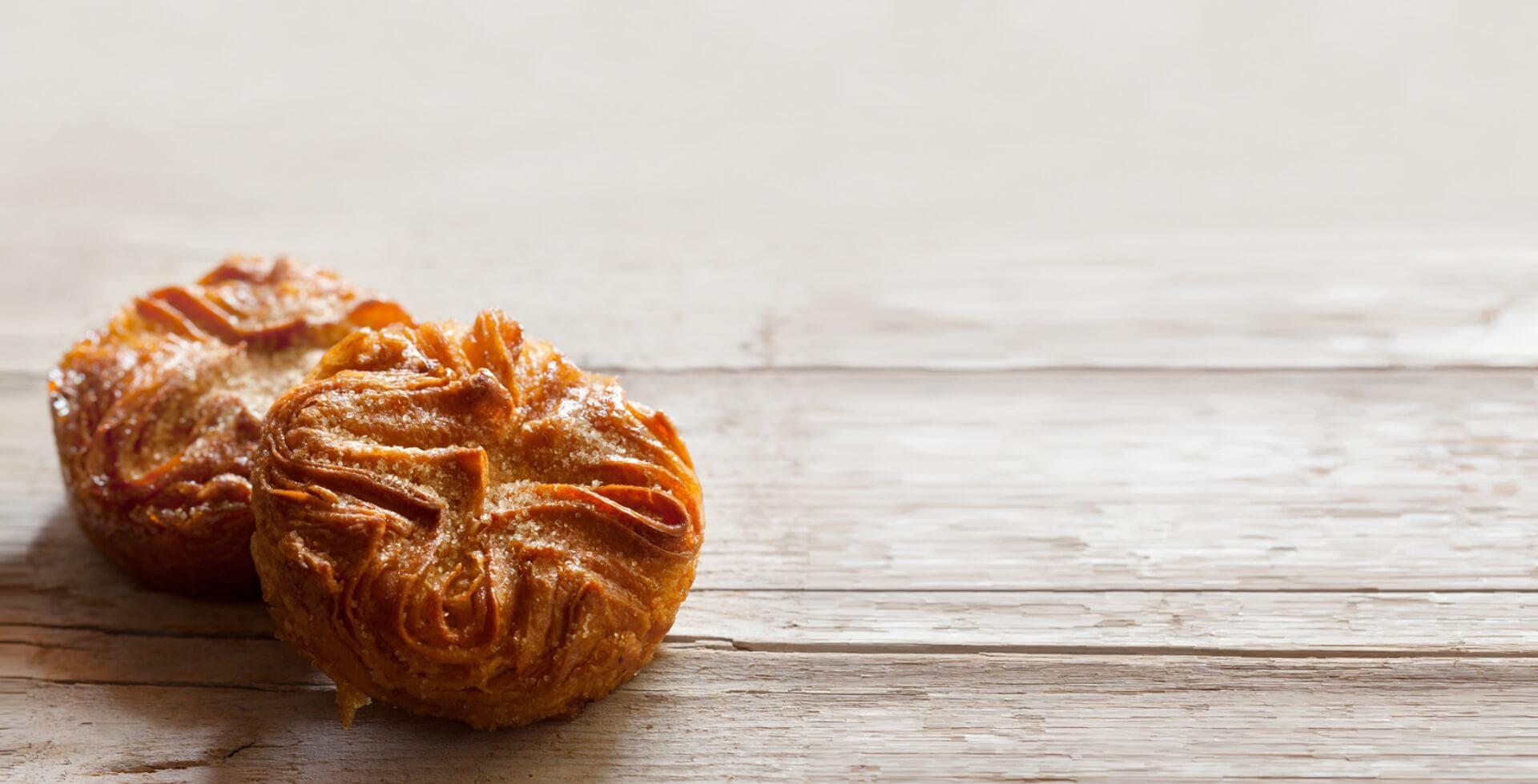Kouign amann individuel pour professionnels Rozell & cake